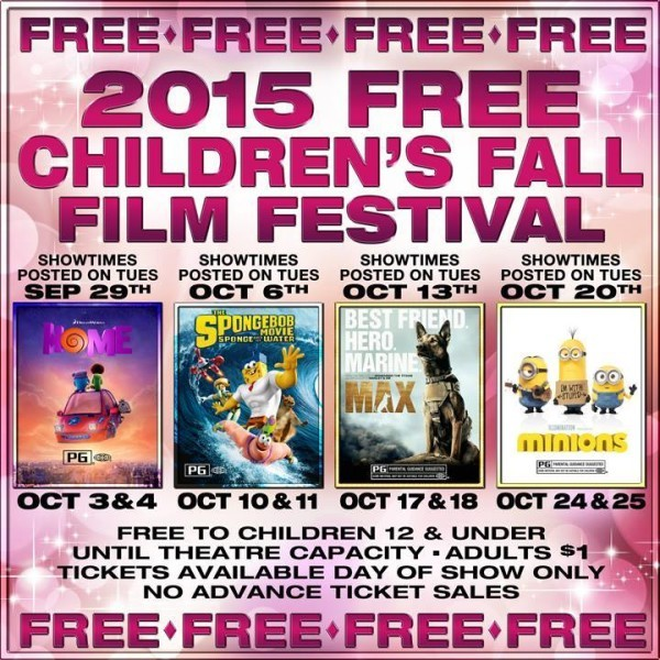 MJR Fall 2015 Children's Festival