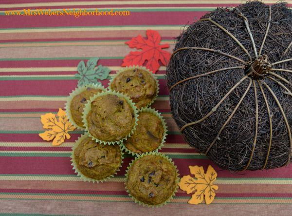 Pumpkin Pie Spice Muffins
