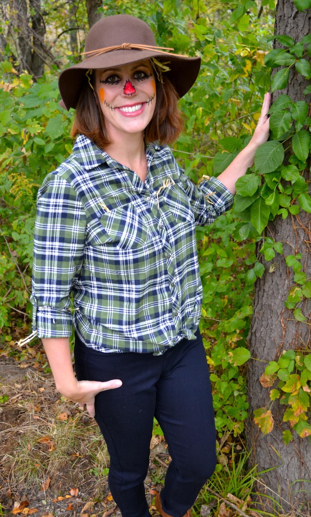 diy scarecrow: halloween costume featured on meijer style - mrs