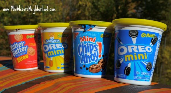 NABISCO Go-Paks! cups