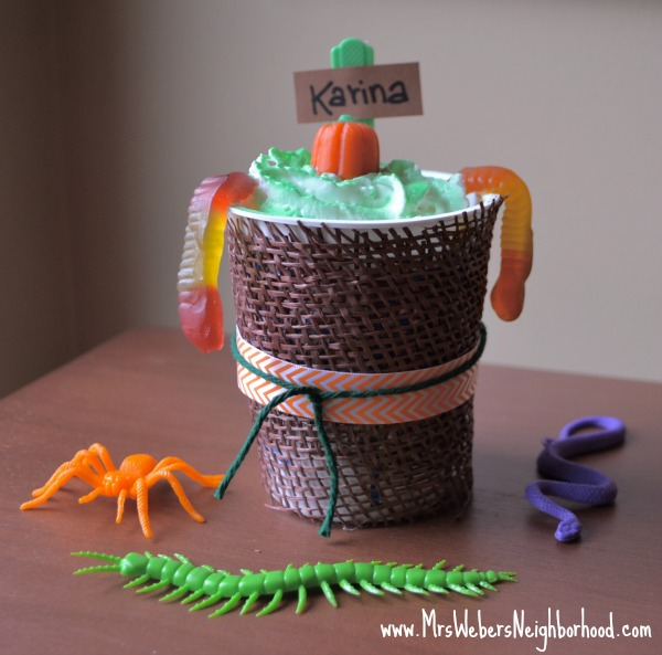 Pumpkin Patch Dirt Cups 1