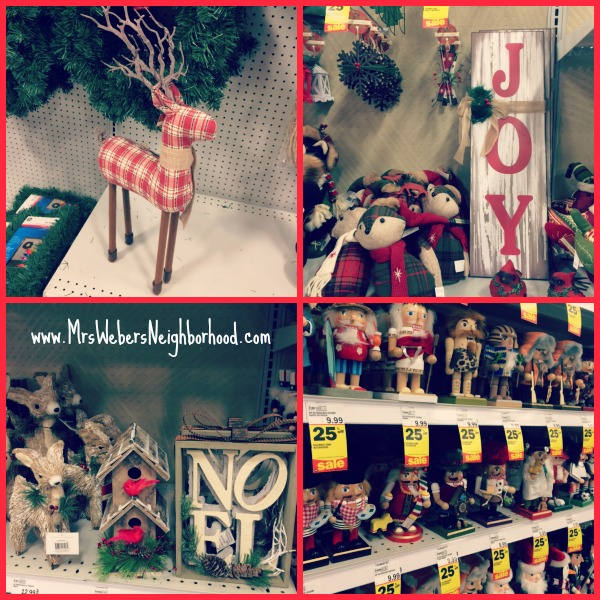 Christmas Decor at Meijer
