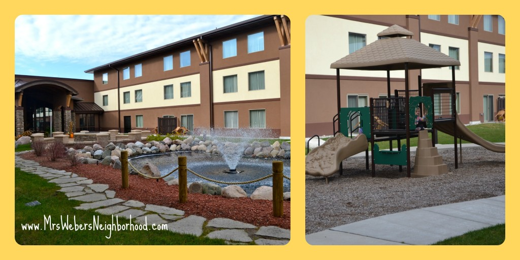 Courtyard at Soaring Eagle Waterpark and Hotel