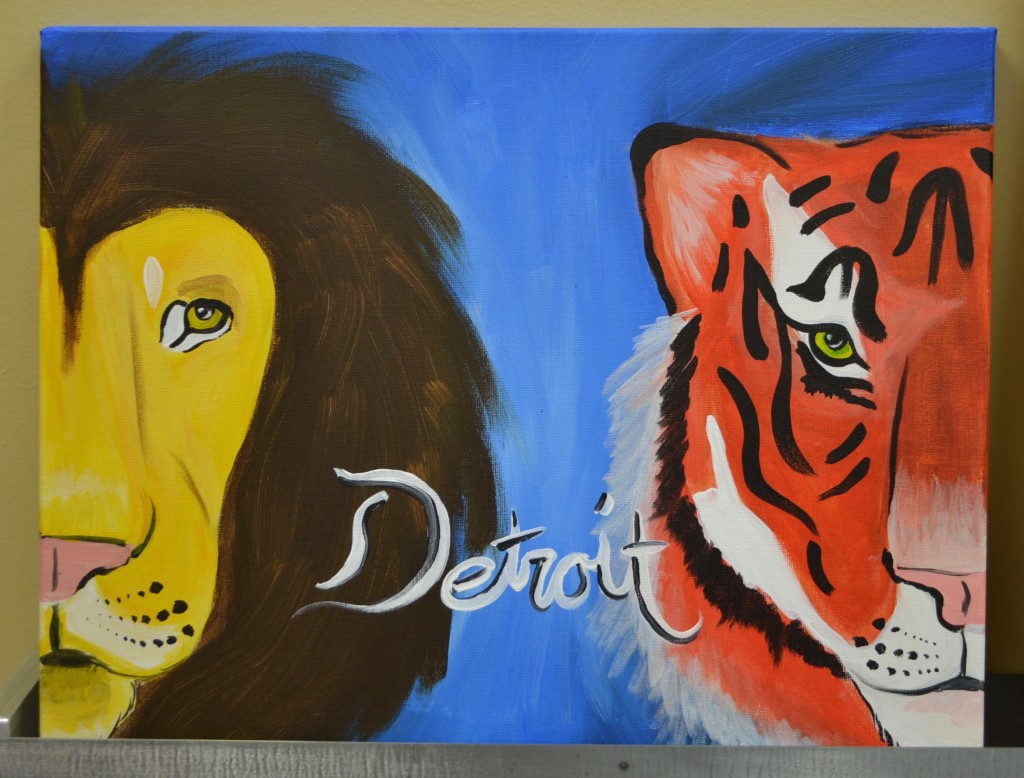 Detroit Painting at Painting with a Twist