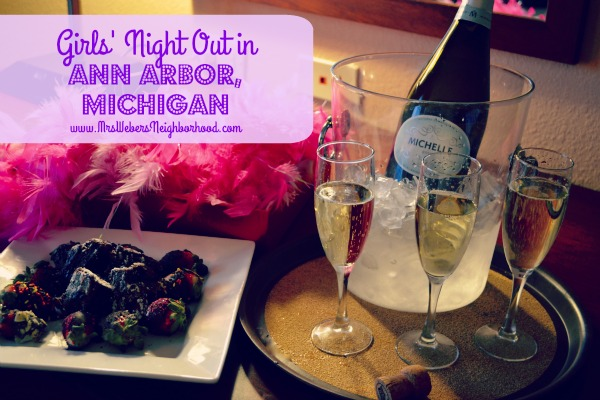 Girls' Night Out in Ann Arbor, Michigan
