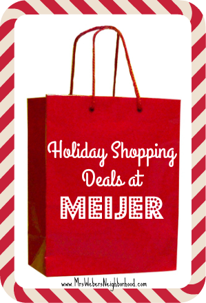 Holiday Shopping Deals at Meijer