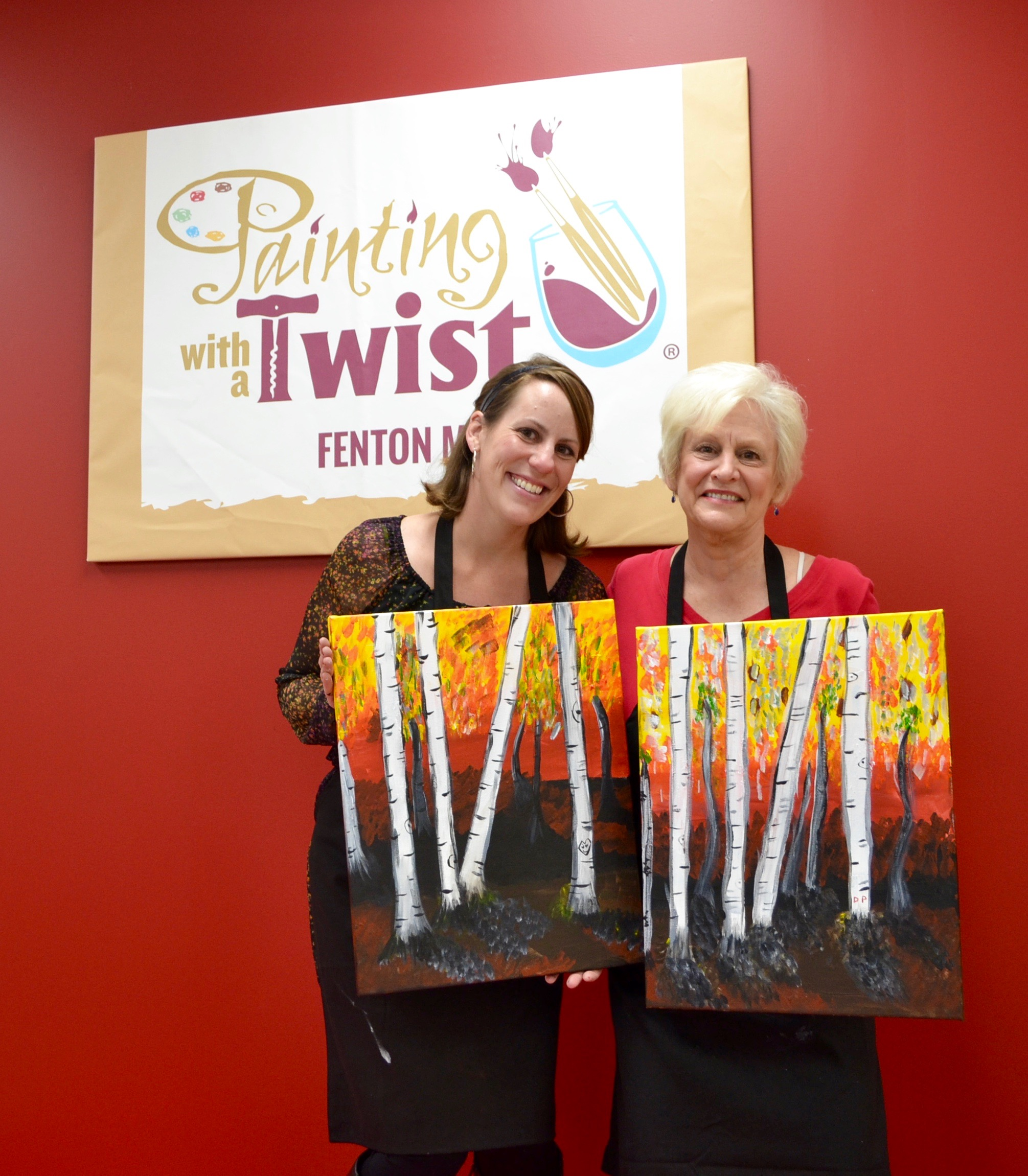 painting with a twist in fenton now open giveaway ends 11 30 mrs weber 39 s neighborhood. Black Bedroom Furniture Sets. Home Design Ideas