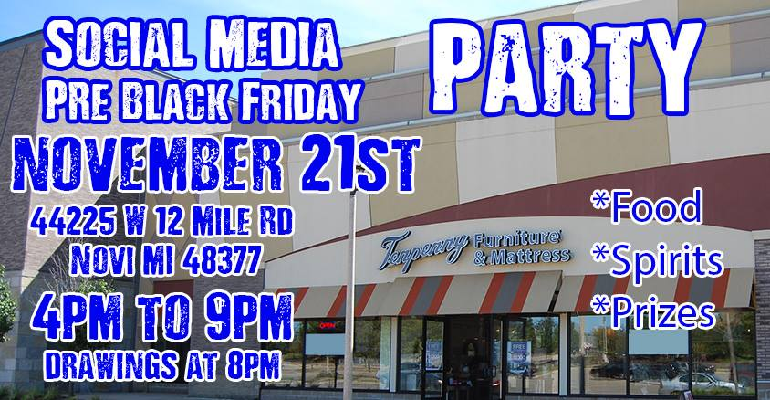 Tenpenny Furniture's Social Media Party