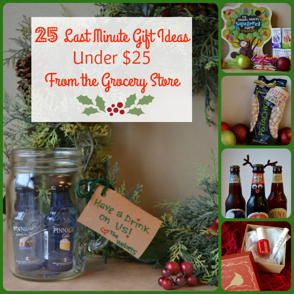 25 Last Minute Gift Ideas from the Grocery Store