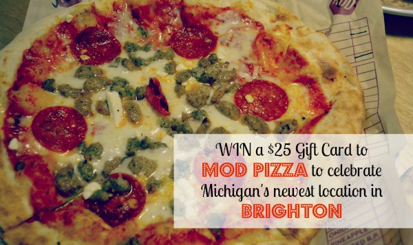 MOD Pizza Brighton Gift Card Giveaway