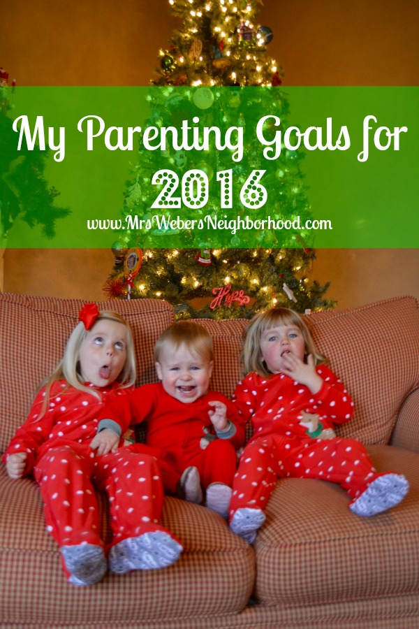My Parenting Goals for 2016