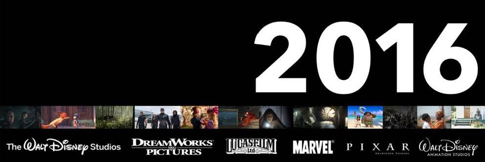 2016 Disney Movies