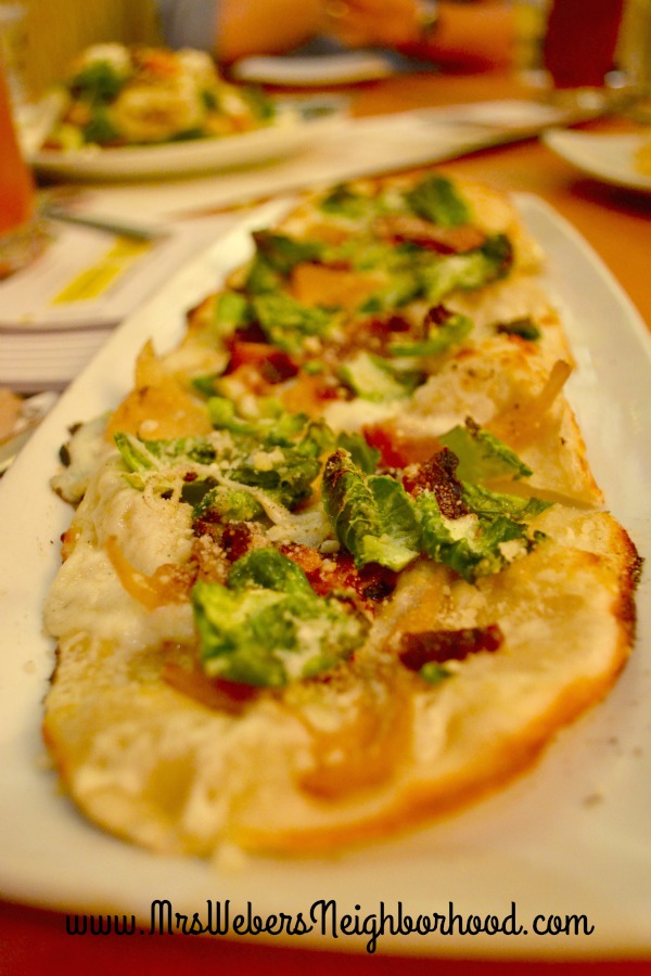 Brussels + Bacon Flatbread