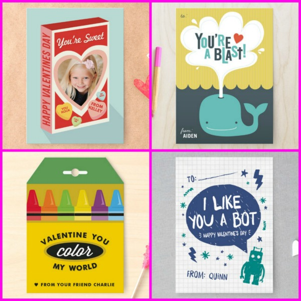 Classroom Valentine's from Minted