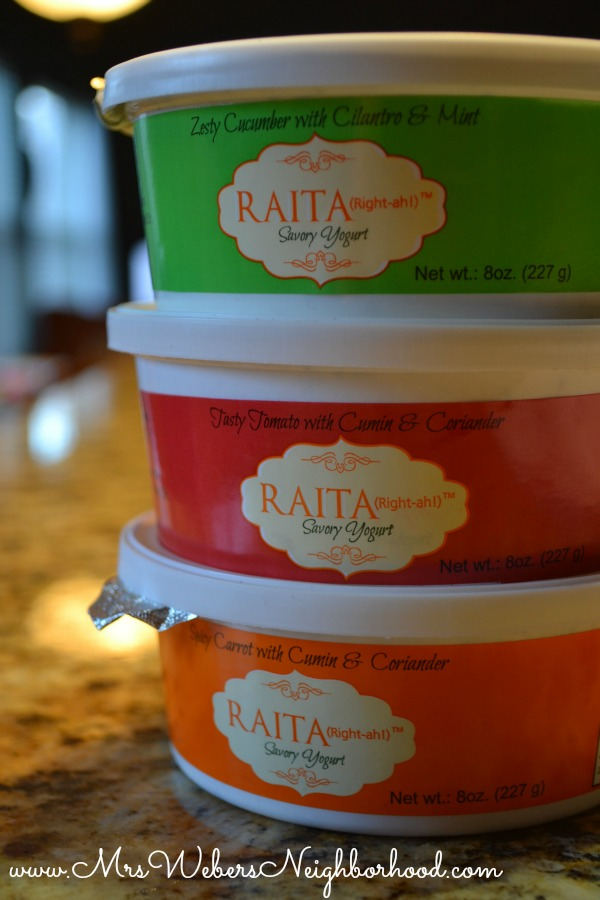 Raita Savory Yogurt by South Asian Flavors