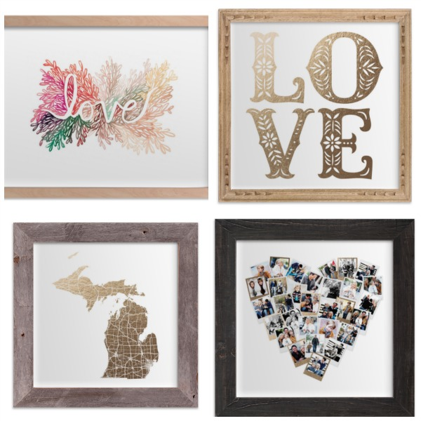Valentine's Art Prints from Minted