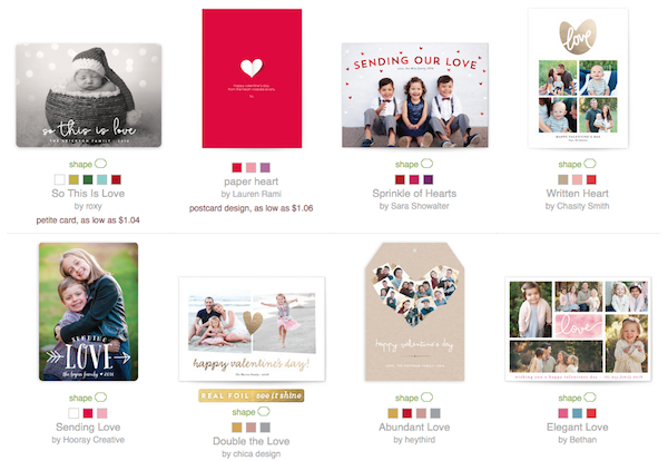 Valentines on Minted