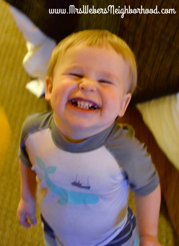 Miles' Cheese Face - 18 Months
