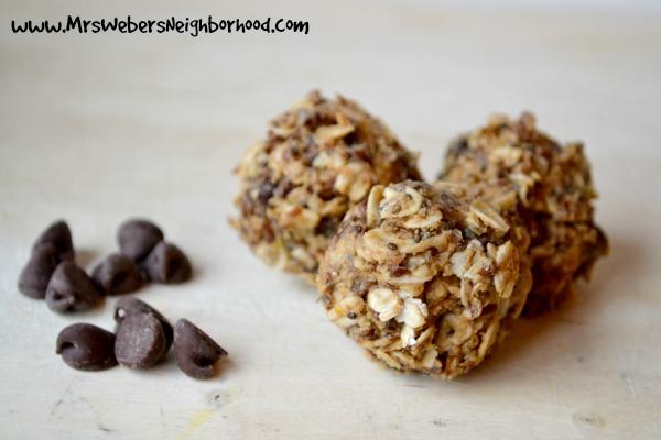 No Bake Peanut Butter Protein Bites