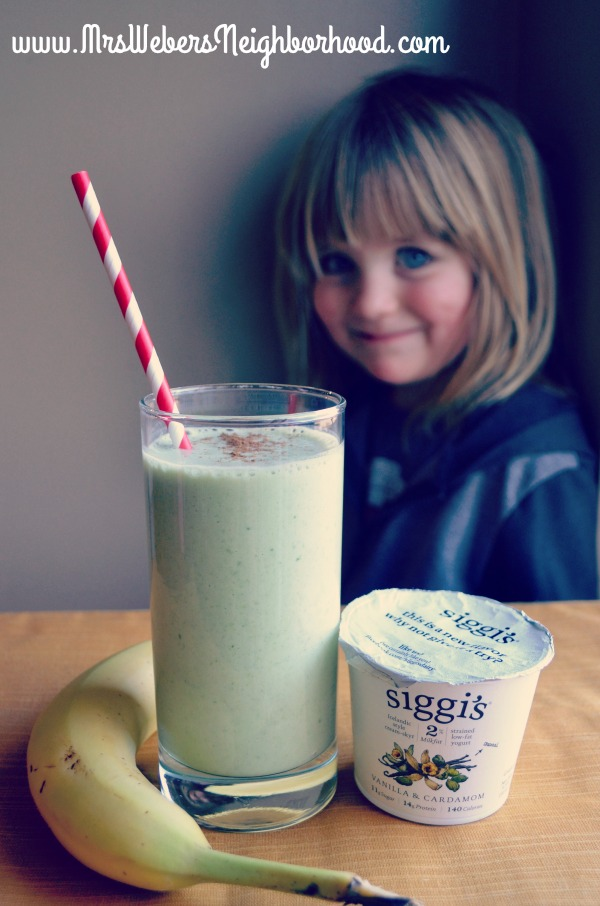 Vanilla Cupcake Smoothie Recipe with Siggi's