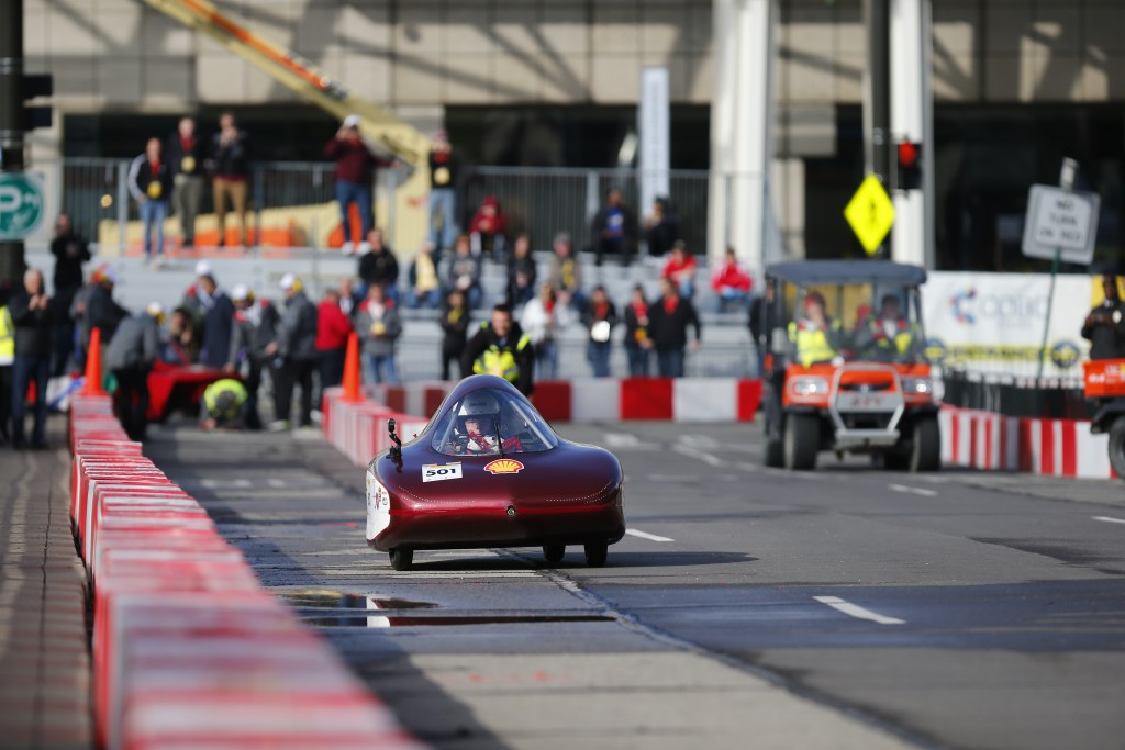 The Shell Eco-marathon Americas Hunt will be in Detroit
