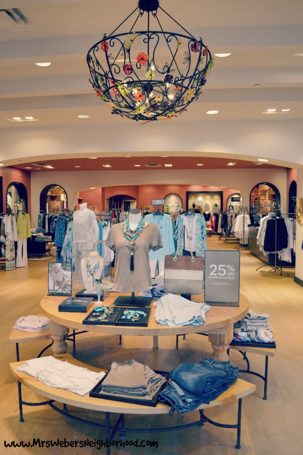Inside Chico's at Green Oak Village Place