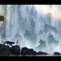 The Jungle Book Waterfall