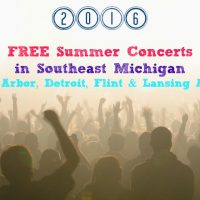 2016 Free Summer Concerts in Southeast Michigan