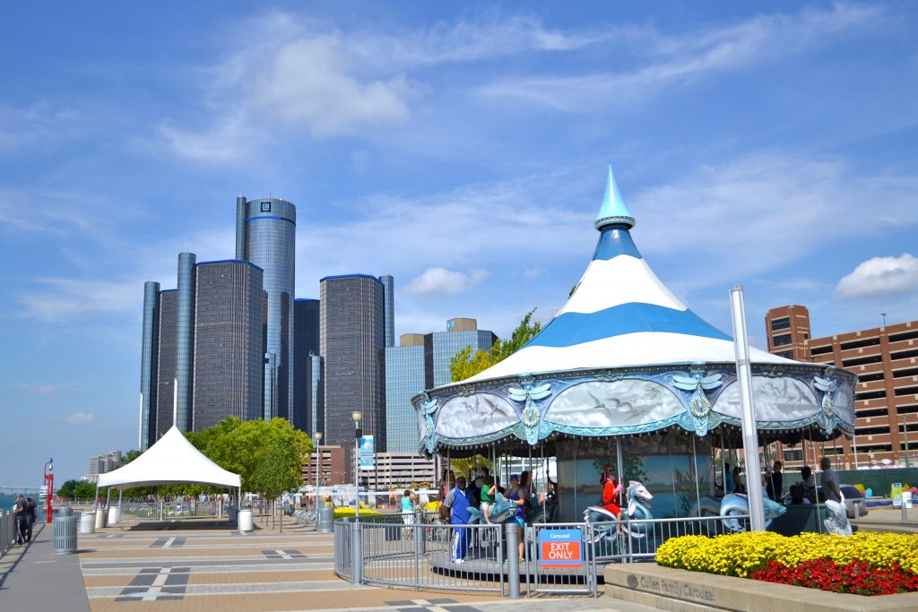 Detroit Riverfront - Summer Events in Southeast Michigan in 2016
