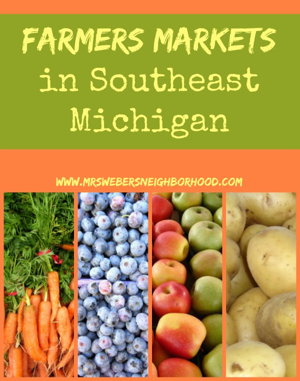 Farmers Markets in Southeast Michigan