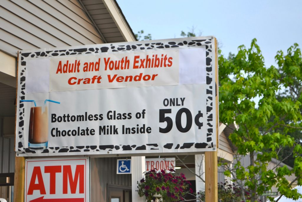 Chocolate Milk at Oakland County Fair