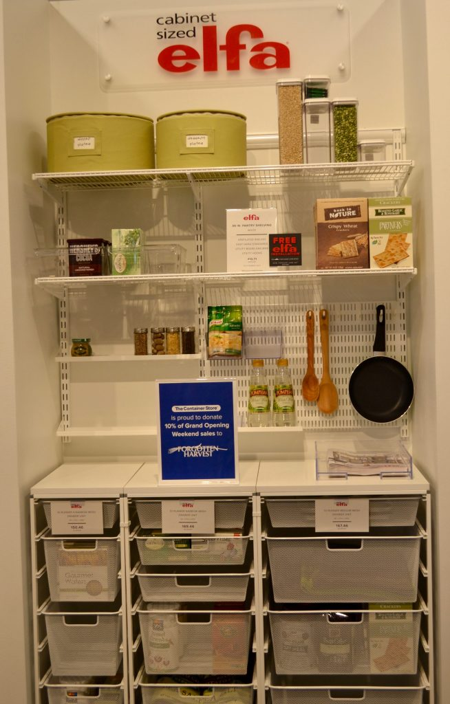 elfa kitchen at The Container Store
