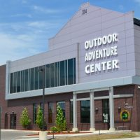 DNR Outdoor Adventure Center in Detroit