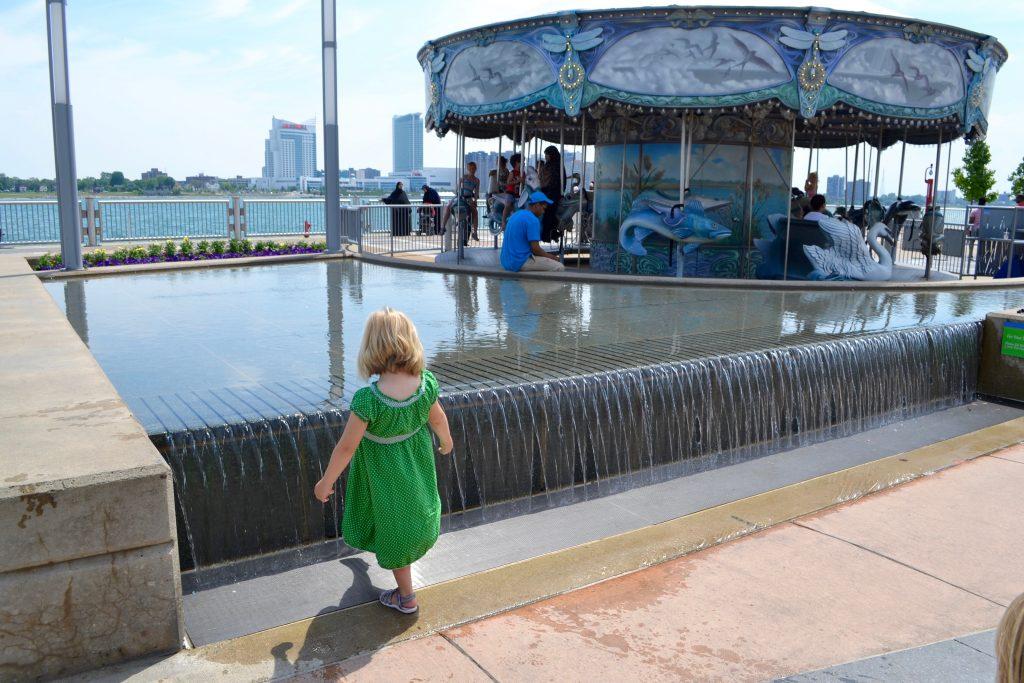 Detroit Riverfront Carousel