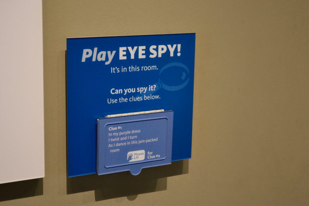 Eye Spy at the DIA
