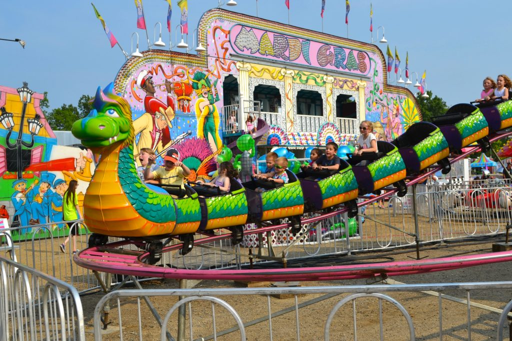 Kid Ride at Oakland County Fair