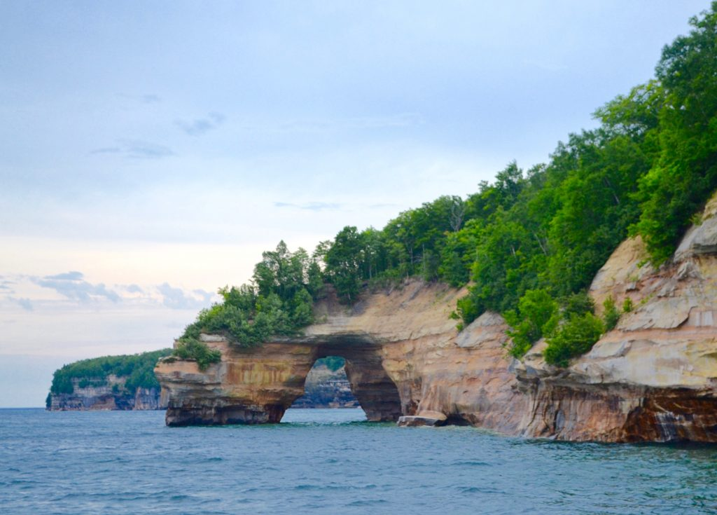Lovers Leap - Pictured Rocks National Lakeshore