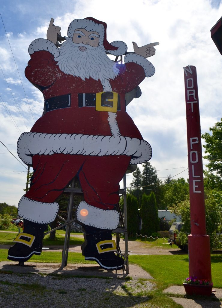 Santa in Christmas, Michigan
