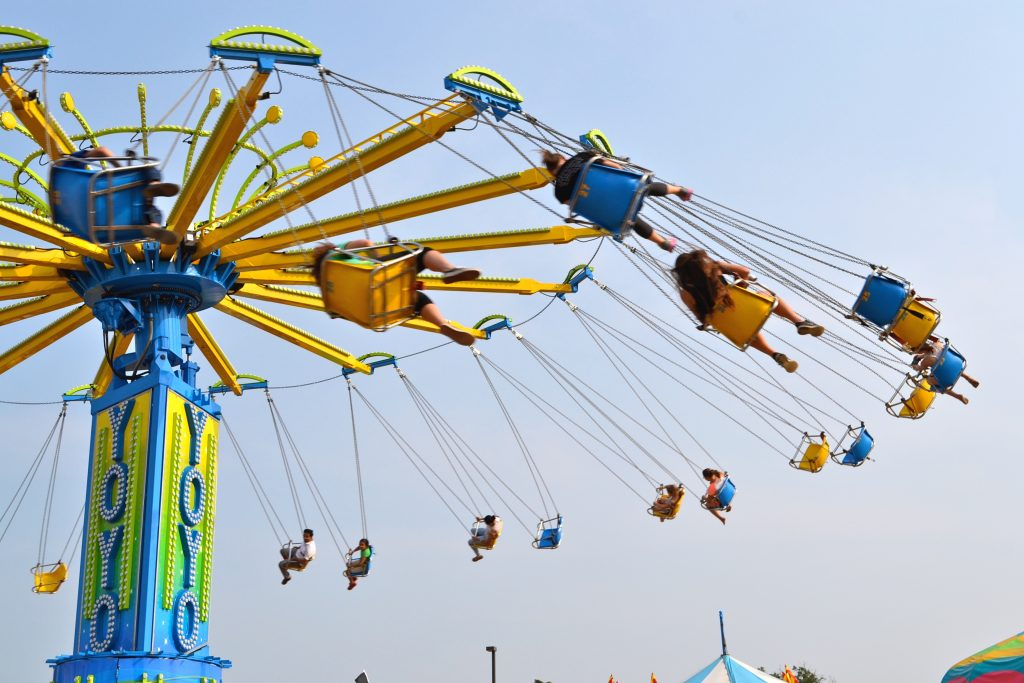 Swings at Oakland County Fair