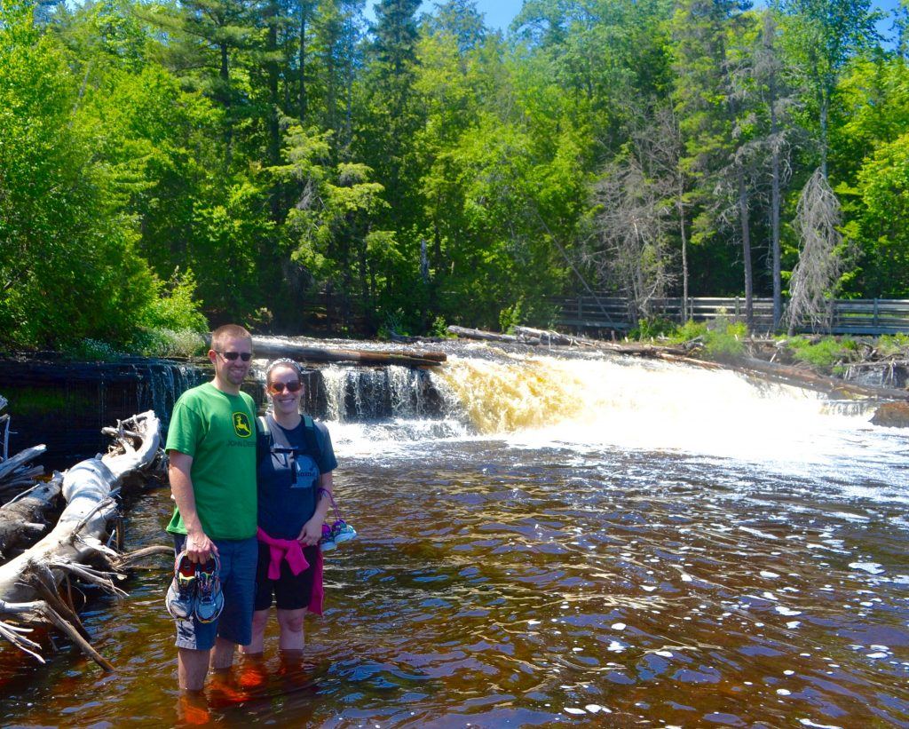 Tahquamenon Lower Falls Island Adventure
