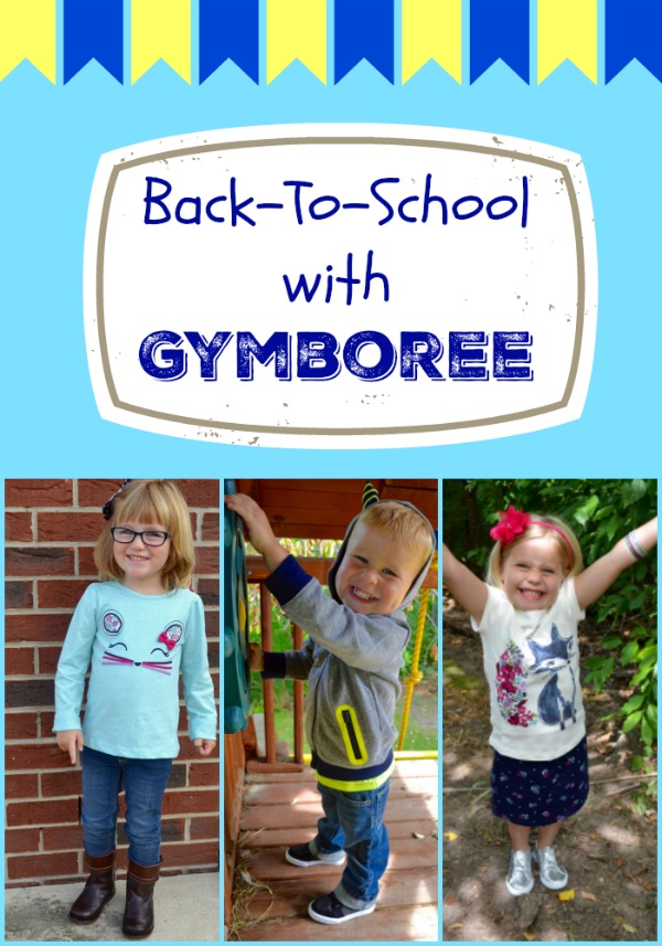 Back-To-School with Gymboree