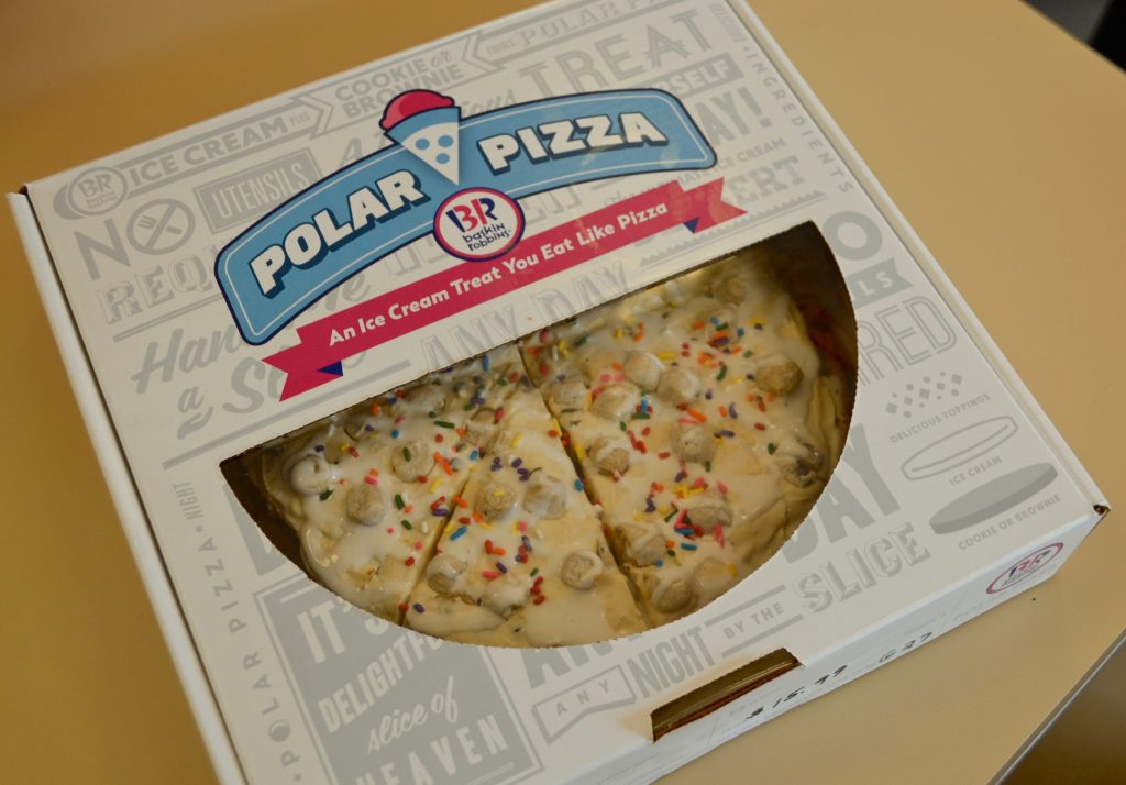 Baskin-Robbins Polar Pizza