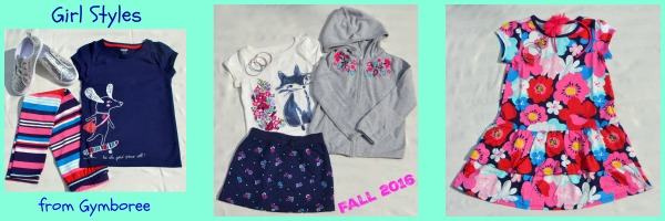 Girl Styles Gymboree Fall 2016
