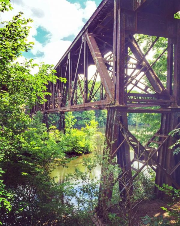 Railroad Bridge - Grand Ledge, Michigan