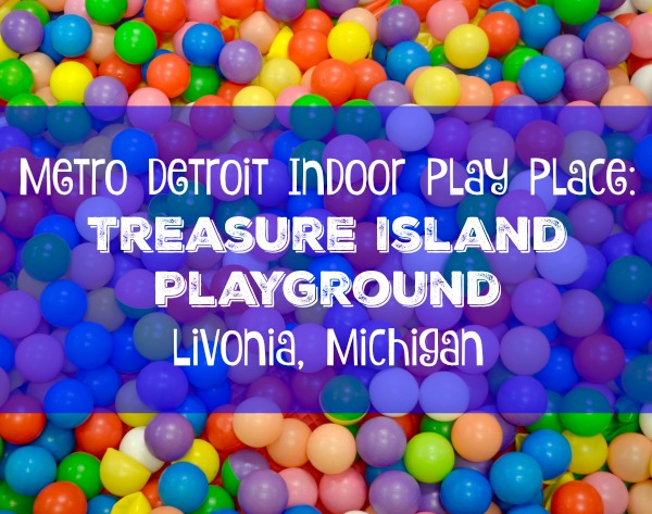 Treasure Island Playground Livonia Michigan