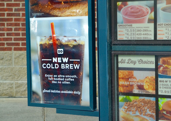 Cold Brew Coffee - Dunkin Donuts