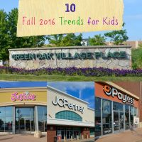 Fall 2016 Trends for Kids