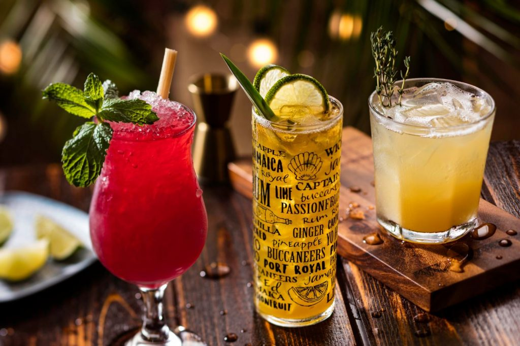 Bahama Breeze Rum Cocktails