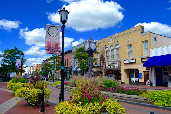 Downtown Northville, Michigan