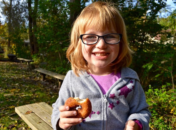 donuts-at-parshallville-cider-mill